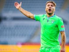 Immobile entre un peu plus dans l'histoire de la Lazio. Goal