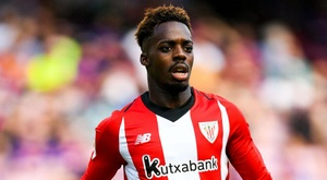 Iñaki Williams put Bilbao into the lead. GOAL