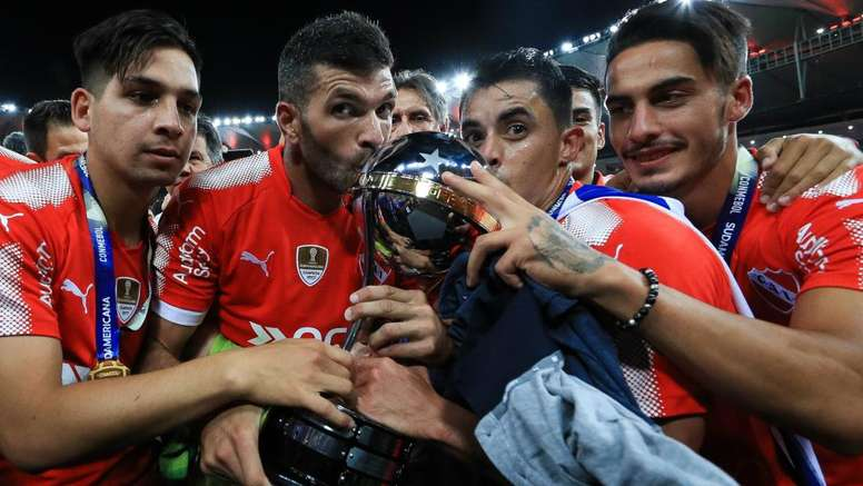 Independiente became the second club to win the Copa Sudamericana twice. GOAL