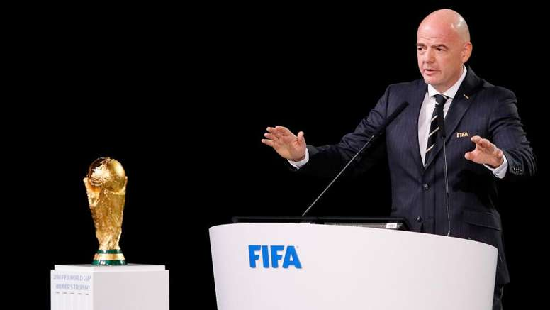 Gianni Infantino has been president of FIFA since 2016. GOAL
