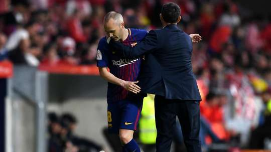 Valverde: Nothing behind Iniesta substitution amid growing CSL links