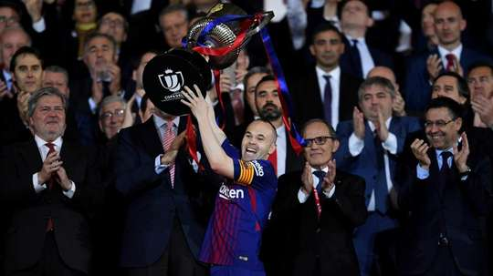 Iniesta's dad believes the time is right for him to bow out. GOAL