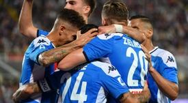 Il Napoli batte la Fiorentina. Goal