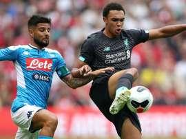Insigne Liverpool Napoli