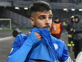 Insigne could say goodbye to lifetime club Napoli. GOAL