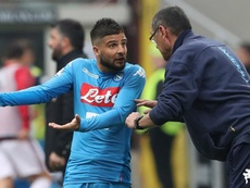 Insigne worked with Sarri at Napoli. GOAL
