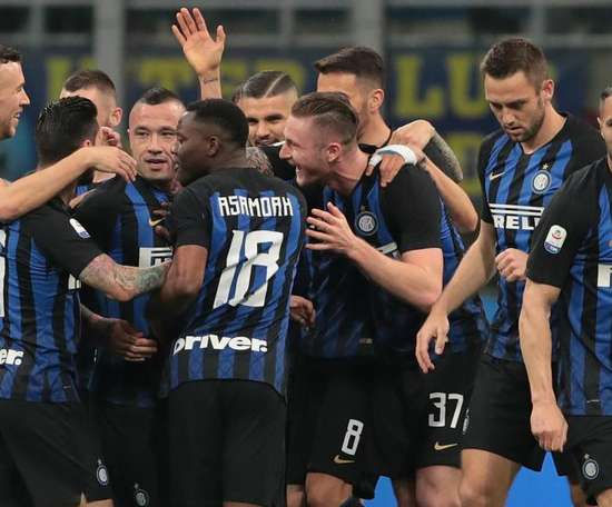 Inter will be able to have a squad of 25 players for next season. GOAL
