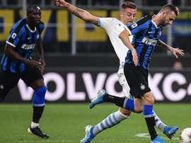 L'Inter riabbraccia in anticipo Lukaku e Brozovic. Goal