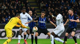 Inter-Eintracht Francoforte, le pagelle: Handanovic super, Jovic una sentenza