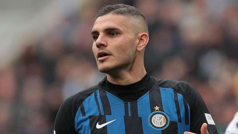 A situação de Icardi na Inter. Goal