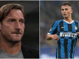 Inter, il primo assistito di Totti procuratore potrebbe essere Sebastiano Esposito