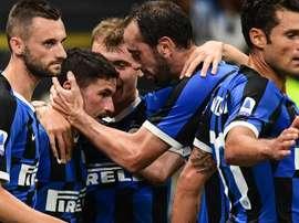 Inter, nel derby possibili novità: Conte studia tre cambi