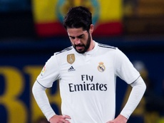Solari hints Isco needs to work harder in training. Goal