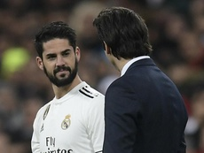 Solari richiama Isco in conferenza stampa. Goal