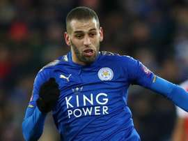 Slimani leaves Leicester City for season-long Monaco loan