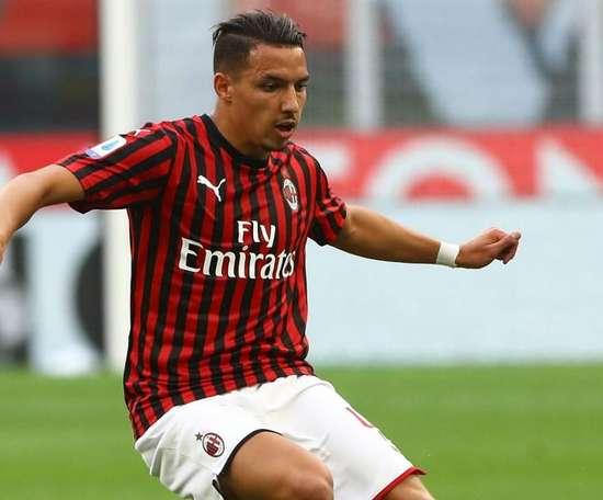 Bennacer  Milan. Goal