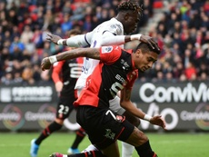 Rennes stoppe la mauvaise spirale. AFP