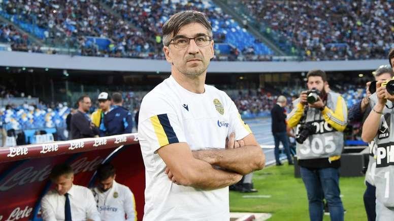 Il tecnico dell'Hellas Juric. Goal