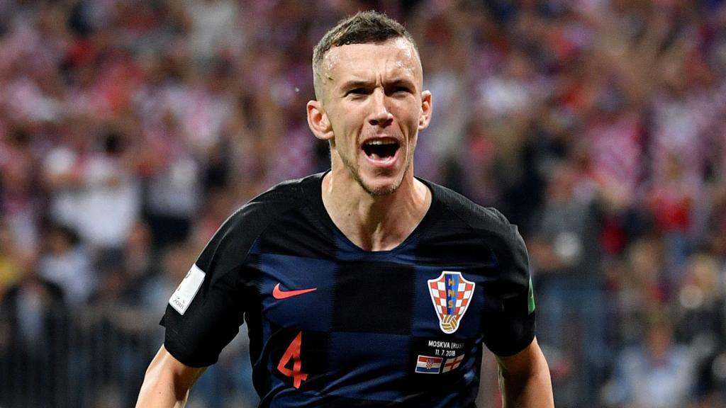 Une tenue tout en bleu pour la finale — France-Croatie