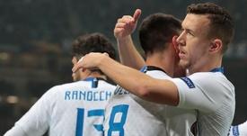 Inter-Rapid Vienna, le pagelle: Perisic ritrovato, Candreva delude ancora.