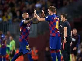 Rakitic e Vidal non partiranno a gennaio. Goal