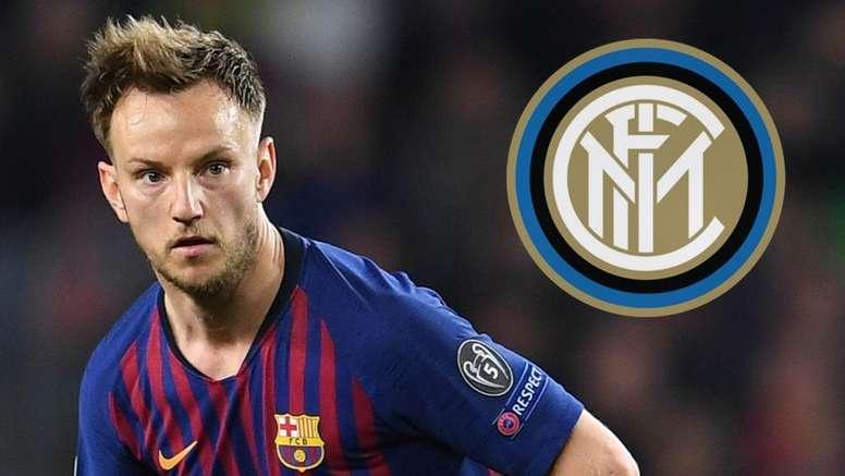 Rakitic pourrait rejoindre Milan. AFP