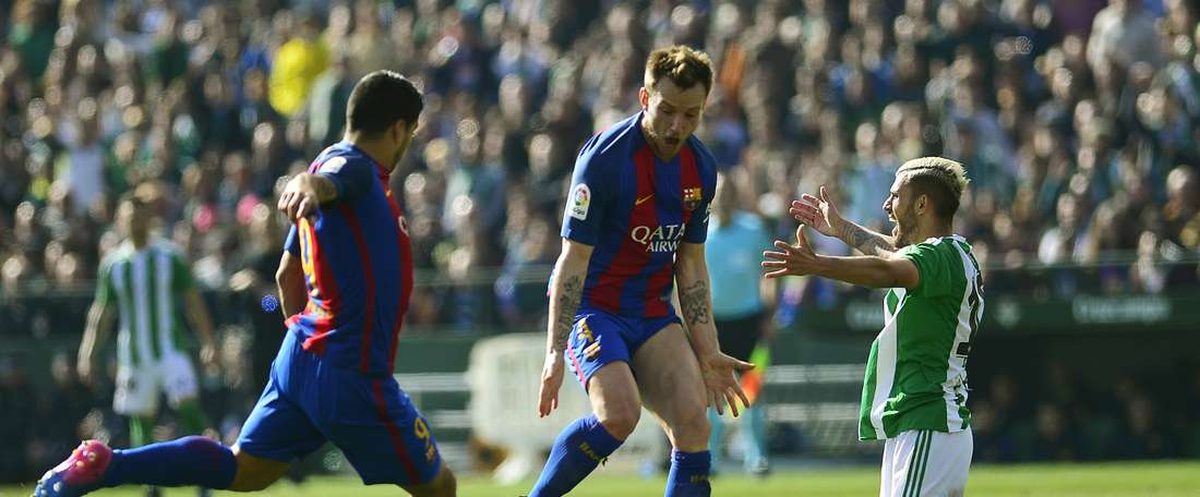 Barcelona suffered another blow to their LaLiga title defence. AFP