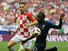 Ivan Rakitic NGolo Kante France Croatia World Cup final 2018