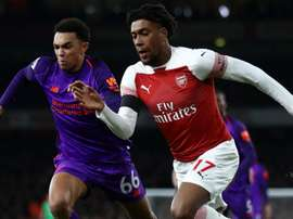 Iwobi has been one of the stars for Emery's Arsenal this term. GOAL