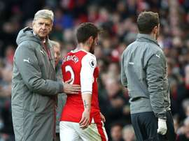Debuchy suffered a potentially serious hamstring injury. Goal
