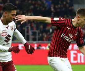 Milan au bout de la nuit. GOAL