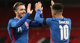 England won by three. GOAL