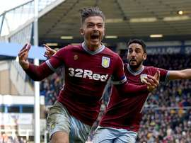 Jack Grealish was punched and then scored the winner against Birmingham. GOAL