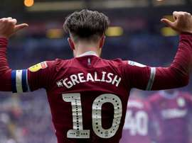 Grealish scored the winner after being punched by a Birmingham fan. GOAL