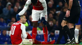 Wenger confirms ankle sprain for Arsenal midfielder Wilshere