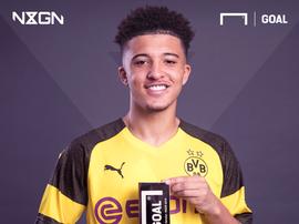 Sancho vence prêmio para o melhor talento jovem do planeta. Goal
