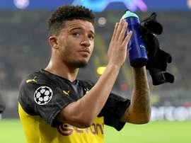 Mercato - Le Borussia Dortmund a fixé un prix XXL pour Jadon Sancho ! AFP