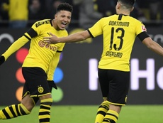 La stat hallucinante de Jadon Sancho avec Dortmund. GOAL