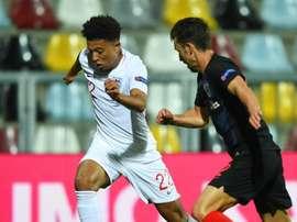 Sancho impressed in Croatia. GOAL