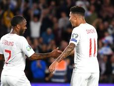 Sancho dedicates England goals. GOAL