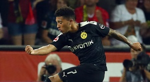 Sancho makes Bundesliga history