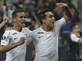Jadson e Pedrinho - Corinthians. Goal