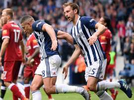 Livermore scored West Brom's first goal of the game. GOAL