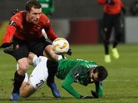 Rennes préserve ses chances de qualification. Goal