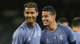 Ronaldo and James could be reunited in Italy. GOAL