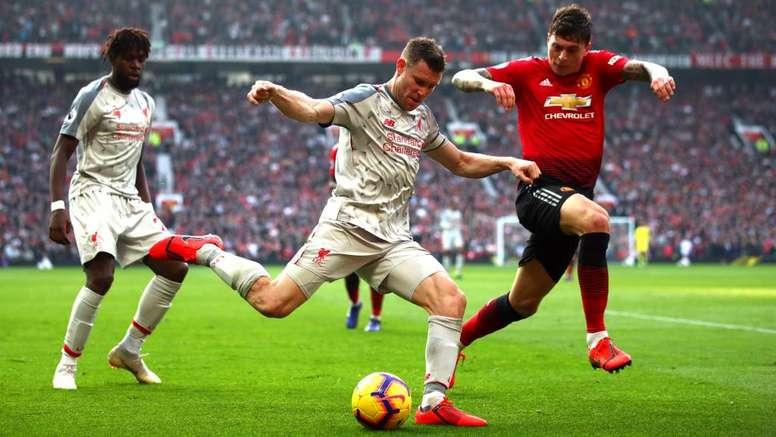 Big Match Focus: Manchester United v Liverpool. AFP