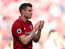 Milner's Liverpool narrowly missed out on the Premier League title. GOAL