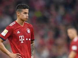 Arsenal faz sondagem para fechar empréstimo com James Rodriguez
