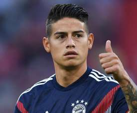 James Rodriguez. AFP