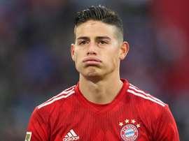 O futuro de James Rodríguez continua envolto em rumores. Goal